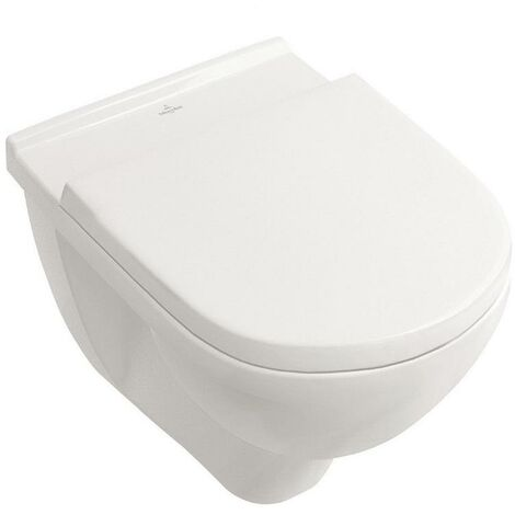 Villeroy & Boch O.Novo Wandtiefspül-WC wasserrandlos inkl. Sitz ...