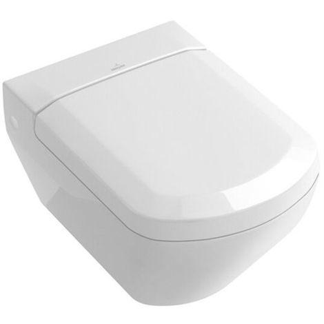 Villeroy & Boch SENTIQUE WC-Sitz mit Soft Closing Funktion weiß alpin