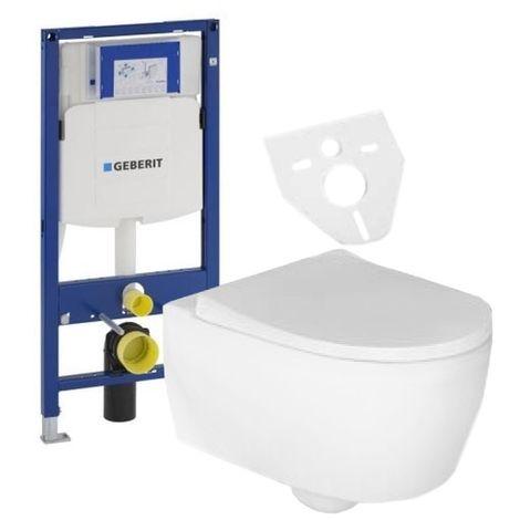 Villeroy & Boch Subway 2.0 Aktionspaket Wand-WC spülrandlos ...