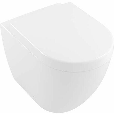 Villeroy & Boch Subway 2.0 lavé WC plancher debout 5602R0 370x560mm, sans rebord, Coloris: Blanc - 5602R001