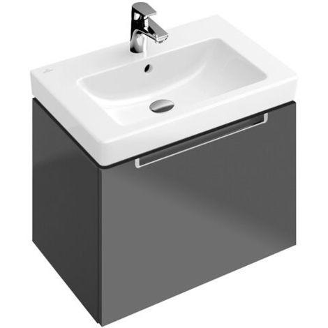 Villeroy & Boch SUBWAY 2.0 Waschtisch 650 x 470 mm, ohne Hahnloch, mit  Überlauf pergamon ceramicplus
