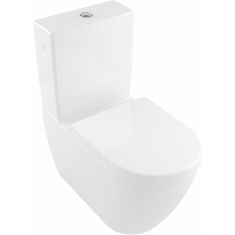 Villeroy & Boch Subway 2.0 washdown closet para lavado combinado sin borde, 5617R0, 370x700mm, color: Blanco - 5617R001