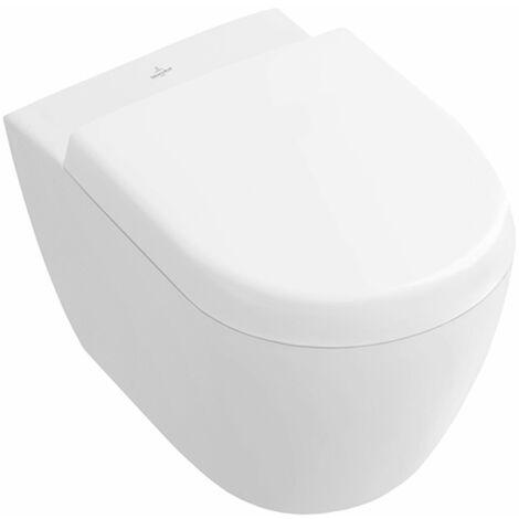 Villeroy & Boch Subway 2.0 washdown toilet compact 560610 355x480mm, Coloris: Blanc - 56061001