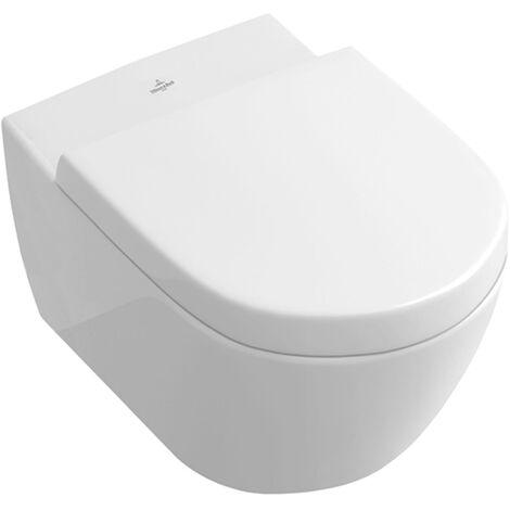 Villeroy & Boch Subway Urinal mit Wand-WC mit Spülrand, chrom
