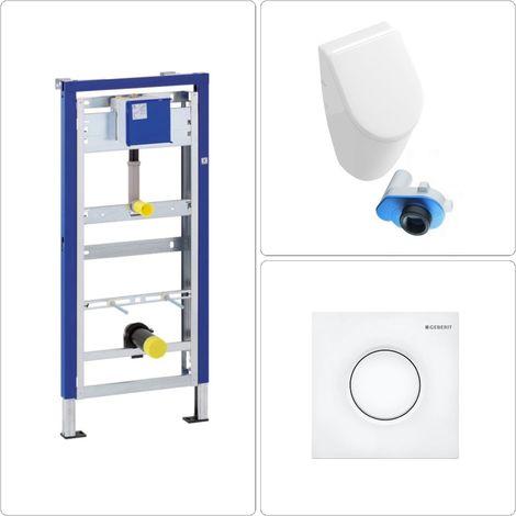 Villeroy & Boch Subway Urinal mit Zubehör Geberit, weiß