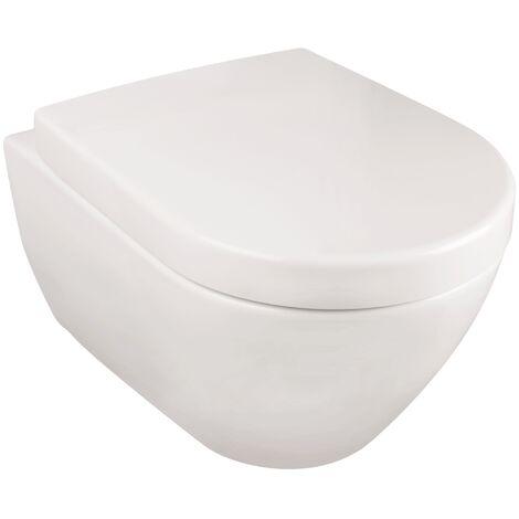 Villeroy & Boch Subway Wand-WC-Set Spülrandlos | Weiß