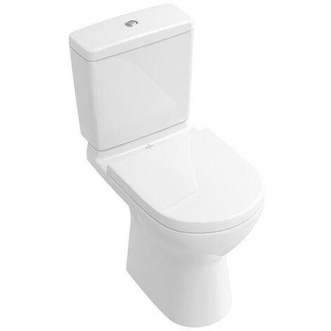 Villeroy & Boch Tiefspülklosett für Kombination (ohne Spülkasten, ohne Sitz) ohne Novo 566110 360x670mm bodenst weiß, 56611001