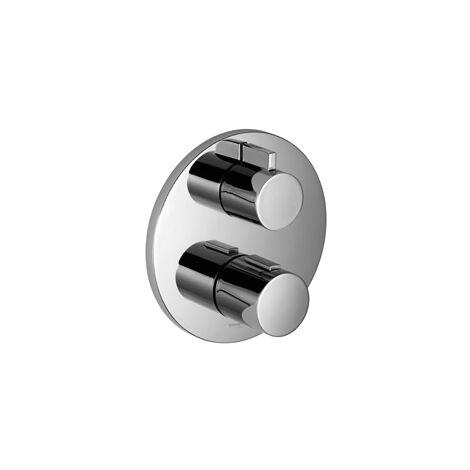Villeroy & Boch Unterputz-Thermostat mit Einweg-Mengenregulierung, chrom - 36425969-00