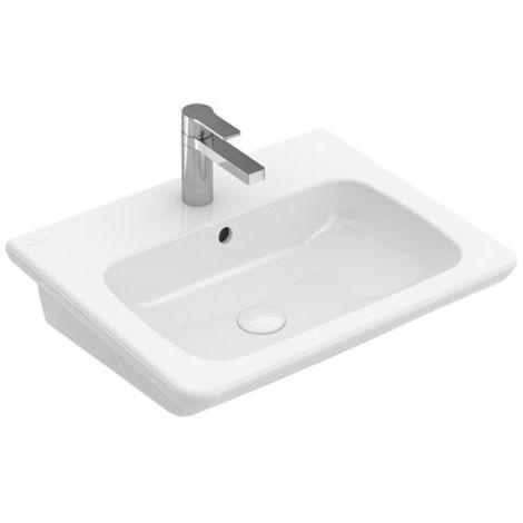 Villeroy & Boch VB Waschtisch Vivia 4137 600x490mm ohne Überl Eckig ...