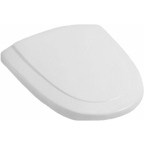 Villeroy & Boch WC-Sitz CENTURY für Tiefspül-WC Scharniere verchromt weiß alpin 884361R1