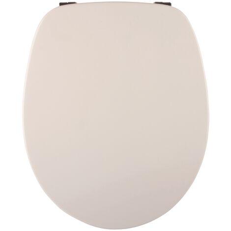 Villeroy & Boch WC-Sitz Omnia, 88236101, WC-Deckel passend zur Keramikserie Omnia Architectura, mit Edelstahlscharnieren, Einsteck-Befestigung, Duroplast, Weiß, 02628 4