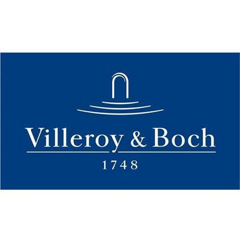 Villeroy & Boch WC-Sitz O.NOVO aus Duroplast Scharniere aus Edelstahl ohne  Absenkautomatik weiß Toilettendeckel