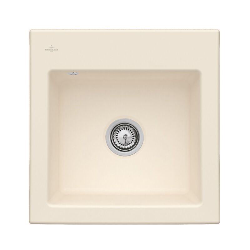 Villeroy /& Boch Subway 45/Edelweiss /évier en c/éramique Blanc /évier encastrable /évier