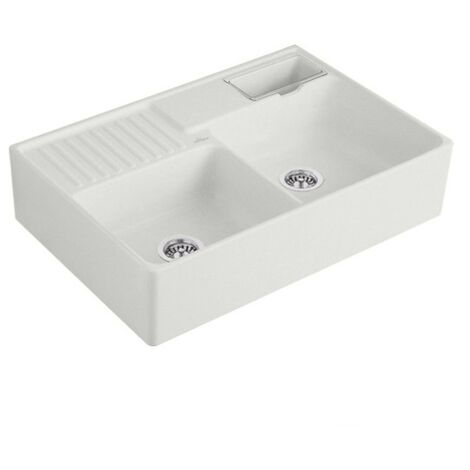 Villeroy et Boch - Evier 2 cuves timbre d office Tradition