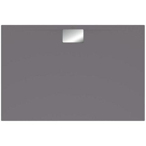 Villeroy et Boch - Receveur anthracite 1,5 cm Architectura Metalrim