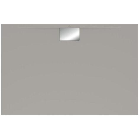 Villeroy et Boch - Receveur gris 1,5 cm Architectura Metalrim