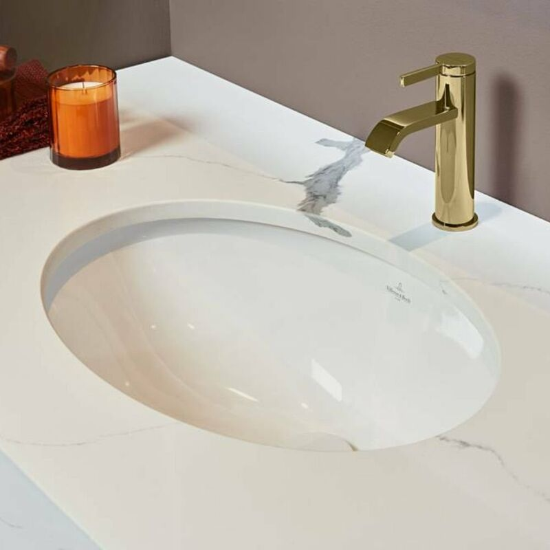 villeroy et boch vasque encastrer evana 61470001. Black Bedroom Furniture Sets. Home Design Ideas