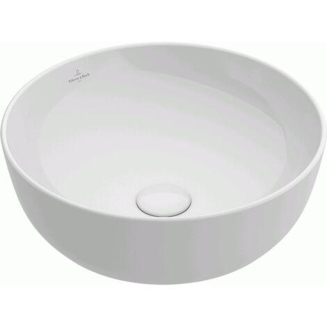 villeroy et boch vasque ronde poser artis blanc. Black Bedroom Furniture Sets. Home Design Ideas