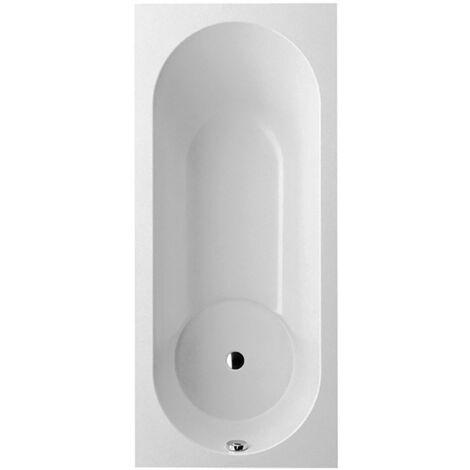 Villeroy un Boch baignoire Qudaryl rectangle Libra Solo, UBQ170LIB2V, 1700x750mm, pieds de baignoire inclus, Coloris: Blanc étoile - UBQ170LIB2V-96