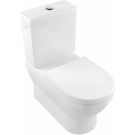 Villeroy und Boch Architectura Wash-down WC 568610 370x700mm de pie, blanco, color: Cerámica Blanca - 568610R1