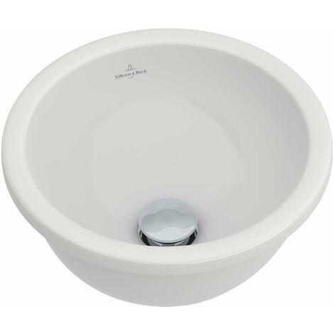 Villeroy und Boch Boucle de lavabo à encastrer & amis 618128 280mm Diamètre, blanc, Coloris: Blanc - 61812801