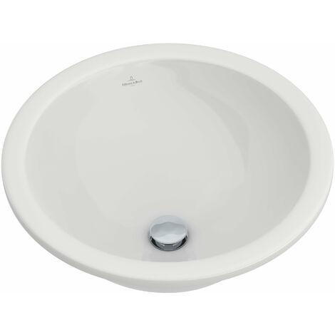 Villeroy und Boch Boucle de lavabo à encastrer & amis 61814143 440mm de diamètre, blanc, Coloris: Blanc - 61814301