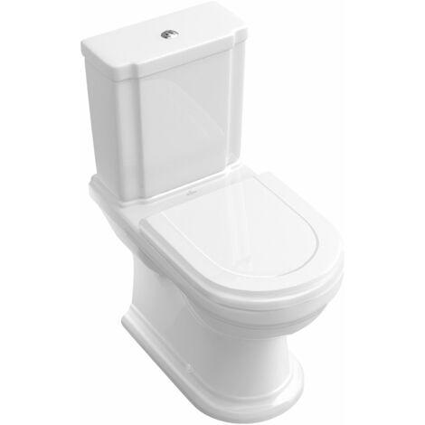 Villeroy und Boch Hommage lavabo para la combinación 666210 370x725mm, blanco, de pie en el suelo - 666210R1