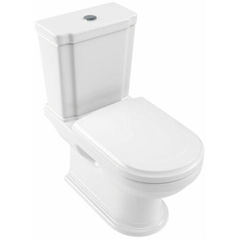 Villeroy und Boch Hommage lavabo para la combinación 666210 370x725mm, blanco, de pie en el suelo, color: Cerámica Blanca - 666210R1
