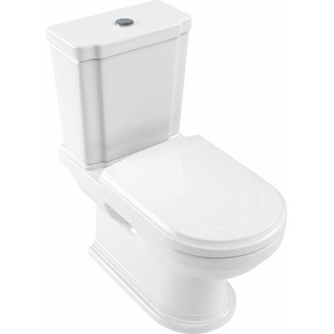 Villeroy und Boch Hommage lavabo para la combinación 666210 370x725mm, blanco, de pie en el suelo, color: Starwhite Ceramicplus - 666210R2