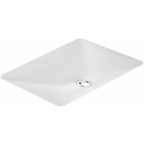 Villeroy und Boch Lavabo bajo encimera Loop & Friends 616320 615x390mm, blanco, color: Blanco - 61632001