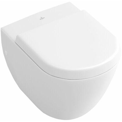 Villeroy und Boch lavabo compacto Subterráneo 660410 355x480mm, blanco, color: Blanco - 66041001