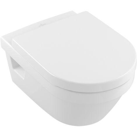 Villeroy und Boch Wash-down WC Diseño de arquitectura 568410 370x530mm colgado en la pared, blanco, color: Blanco - 56841001