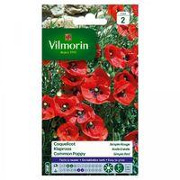 Vilmorin - Coquelicot Simple Rouge