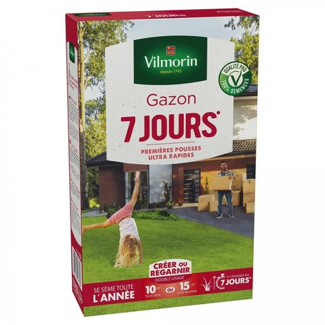 Vilmorin - Gazon 7 jours 250 gr
