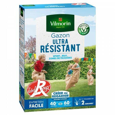Vilmorin - Gazon Ultra Résistant Vert, 1 kg