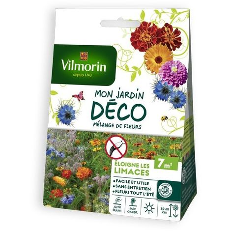 Vilmorin - Melange Fleurs Anti-Limace 7m3