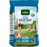 VILMORIN Semences de gazon ultra-résistant Label Rouge - 15 kg