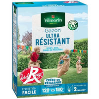 VILMORIN Semences de gazon ultra-résistant Label Rouge - 3 kg