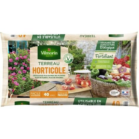VILMORIN Terreau horticole 40 L