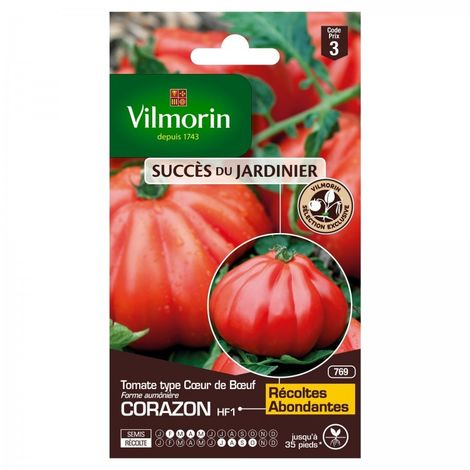 Vilmorin - Tomate Coeur de Boeuf Corazon