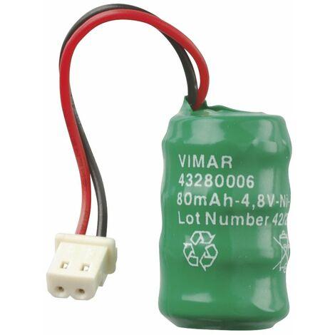 """main image of """"Vimar 00910 Batteria ricaricabile Ni-MH 4.8V 80mAh"""""""