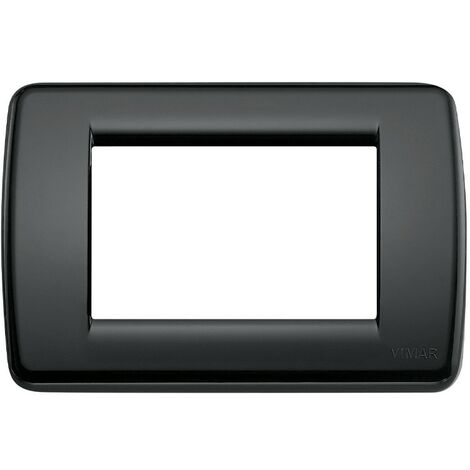 "main image of ""Vimar Idea Rondò plaque 3 modules 16763.16"""