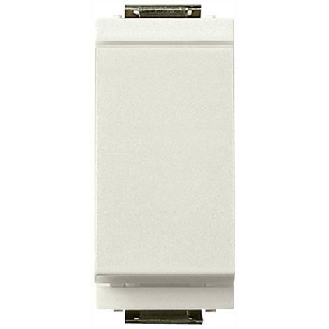 Vimar - Invertitore 1P 16A 250V modulo ridotto Serie Idea colore bianco 17005.B