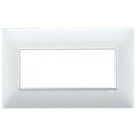 "main image of ""Vimar plana placca 5 moduli bs colore bianco 14649.01"""