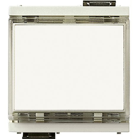 Vimar - Pulsante 1P NO 10A 12-24V Serie Idea colore bianco 17020.B