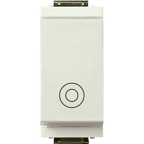 Vimar - Pulsante 1P NO 10A generico Serie Idea colore bianco 17010.B
