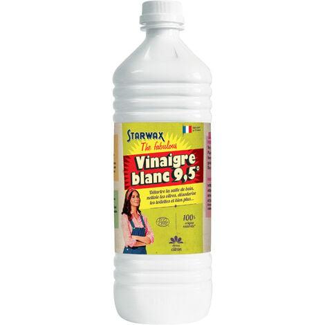 Vinaigre blanc 9.5° parfum citron 1L STARWAX FABULOUS