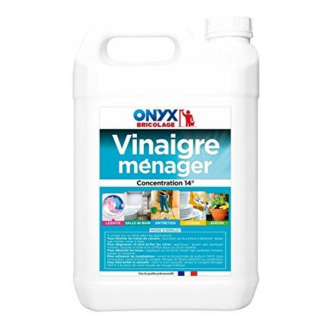 VINAIGRE MENAGER 14° - ONYX - 5 Litres