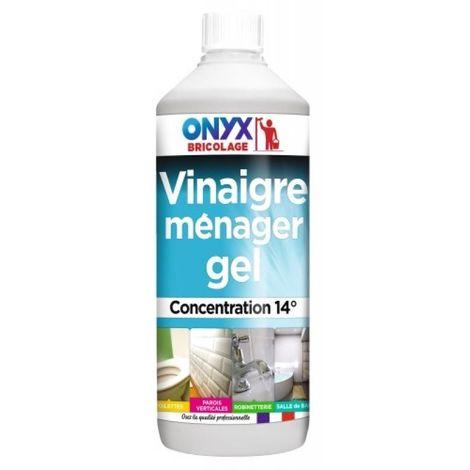Vinaigre ménager gel 14° Onyx, 1 litre