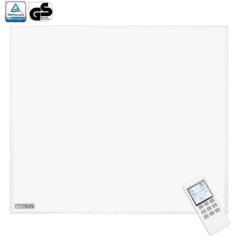 VINGO 450Watt Infrarotheizung mit Thermostat Ultraflach Heizpaneel IP54 Heizbild ultraflache Heizpaneel mit ?berhitzungsschutz